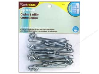 Home Decor $0 - $3: Slip-On Drapery Hooks by Dritz Home  3 in. 14pc.