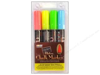 Back To School Uchida Bistro Chalk Marker: Uchida Bistro Chalk Marker Set A 4 pc.