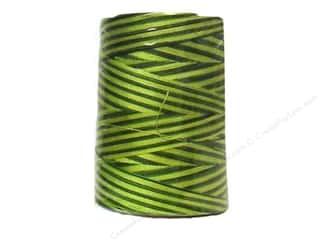 Threads Spring: Coats & Clark Star Variegated Mercerized Cotton Quilting Thread 1200 yd. #855 Spring Greens