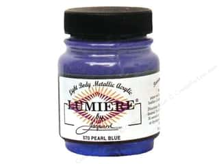 Jacquard Lumiere Paint 2.25 oz. Pearl Blue