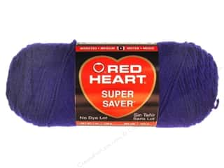 Red Heart Super Saver Yarn #0387 Soft Navy 7 oz.
