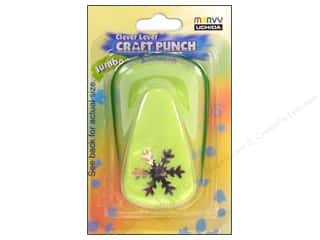 Uchida Jumbo Craft Punch 7/8 in. Snowflake