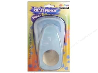 Uchida: Uchida Clever Lever Super Jumbo Craft Punch 2 in. Circle