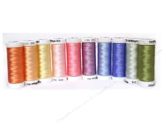 Sulky Thread Sampler 40 wt Pastels Top 10