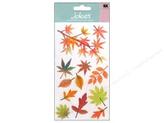 Fall / Thanksgiving EK Sticko Stickers: Jolee's Vellum Stickers Fall Leaves