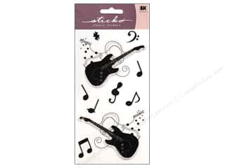 EK Sticko Stickers Silhouette Guitar