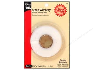 Fusible Web $4 - $5: Stitch Witchery Fusible Bonding Web by Dritz Super Weight 5/8 in. x 13 yd.