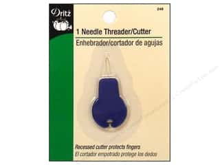 Thread Cutters / Yarn Cutters: Needle Threader with Cutter by Dritz