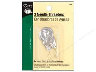 sewing machine needle threader: Needle Threaders by Dritz 3pc.