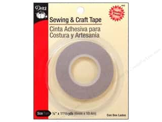 Tapes inches: Sewing/Craft Tape by Dritz 1/4 in. x 11.3 yd.