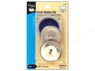 Buckles Bulk & Cover Buttons: Cover Button Kit by Dritz 1 1/2 in.