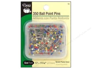 Push Pins Clear: Ball Point Pins by Dritz Size 17 350pc.