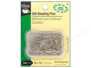 Beads Dritz: Beading Pins by Dritz Size 14 250pc.