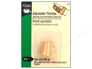 Dritz Thimbles Plastic Adjustable