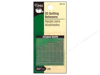 Dritz Notions Dritz Hand Needles: Quilting Betweens by Dritz Size 3/9 20pc (3 packages)
