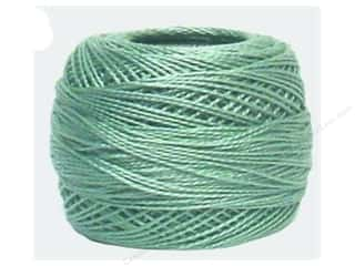 DMC Pearl Cotton Ball Size 8 #504 Very Light Blue Green (10 balls)