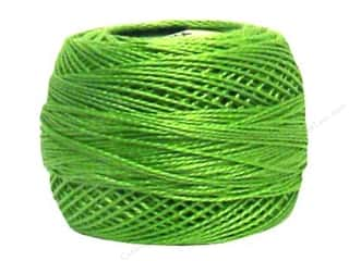 DMC Pearl Cotton Ball Size 8 #704 Bright Charteuse (10 balls)