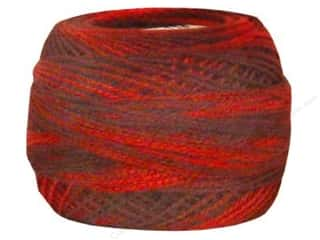 variegated d m c embroidery floss # 57: DMC Pearl Cotton Ball Size 8 #115 Varigated Garnet (10 balls)