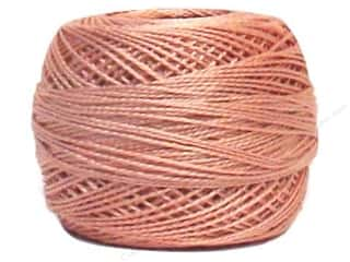 Yarn & Needlework DMC Pearl Cotton Balls Size 8: DMC Pearl Cotton Ball Size 8 #224 Light Dusty Pink (10 balls)