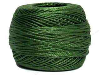 Yarn & Needlework DMC Pearl Cotton Balls Size 8: DMC Pearl Cotton Ball Size 8 #319 Shadow Green (10 balls)