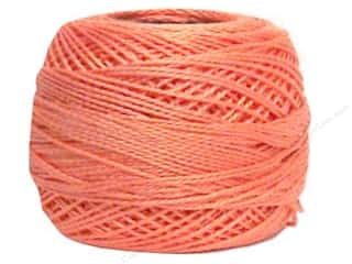 Yarn & Needlework DMC Pearl Cotton Balls Size 8: DMC Pearl Cotton Ball Size 8 #352 Light Coral (10 balls)