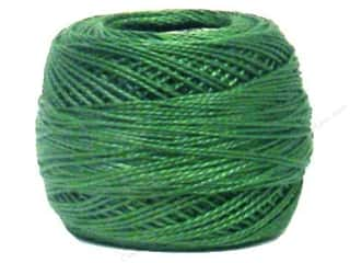 Pearl Cotton Pearl Cotton Ball: DMC Pearl Cotton Ball Size 8 #367 Dark Pistachio Green (10 balls)