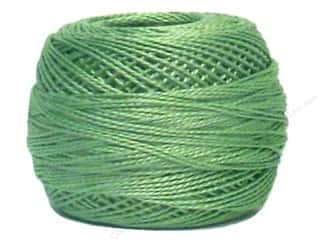 DMC Pearl Cotton Ball Size 8 #368 Light Pistachio Green (10 balls)