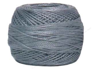 Yarn & Needlework DMC Pearl Cotton Balls Size 8: DMC Pearl Cotton Ball Size 8 #414 Lead Grey (10 balls)
