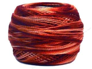 variegated d m c embroidery floss # 57: DMC Pearl Cotton Ball Size 8 #69 Varigated Terra Cotta (10 balls)