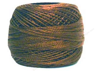 Yarn & Needlework DMC Pearl Cotton Balls Size 8: DMC Pearl Cotton Ball Size 8 #433 Medium Brown (10 balls)