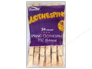 Forster Clothespin Large Spring 24pc