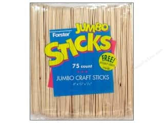 Forster Craft Stick Jumbo 75pc