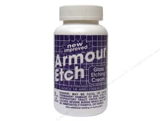 Glass Armour Rub 'n' Etch Stencils: Armour Etch Glass Etching Cream 10 oz.