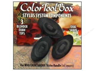 ColorBox: ColorBox Tool Foam Blender Tip Oval 3pc