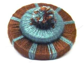 Conso Chocolat Pom Rosette 1 1/2&quot; Mediterranean