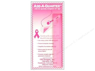 "Weekly Specials Rotary: CM Designs Ruler 6"" Add-A-Quarter Pink"