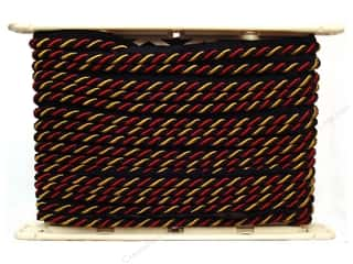 "Support Pillows / Cushions: Conso Alexander Cord w/Lip 3/8"" Scarab (12 yards)"