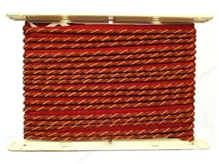 "Conso Brown: Conso Alexander Cord with Lip 1/4"" Peony (12 yards)"
