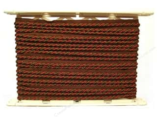 Conso Alexander Cord w/Lip 1/4&quot; Cocoa Coral (12 yards)