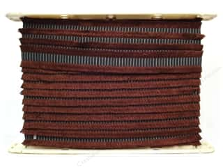 Conso Chocolat Dbl Cut Braid 1 3/8&quot; Mditrn Chclat (12 yards)