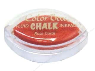 Chalk $2 - $4: ColorBox Fluid Chalk Inkpad Cat's Eye Rose Coral