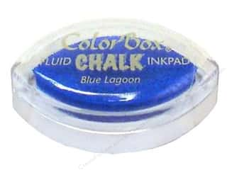 ColorBox Fluid Chalk Ink Pad Cat&#39;s Eye Blue Lagoon