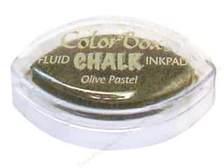 ColorBox: ColorBox Fluid Chalk Ink Pad Cat's Eye Olive Pastel