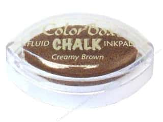 Clay Cream/Natural: ColorBox Fluid Chalk Inkpad Cat's Eye Creamy Brown