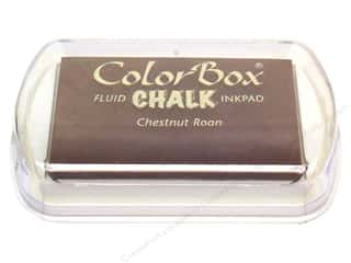 ColorBox Fluid Chalk Ink Pad Full Size Chestnut Roan