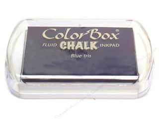 ColorBox Fluid Chalk Ink Pad Full Size Blue Iris