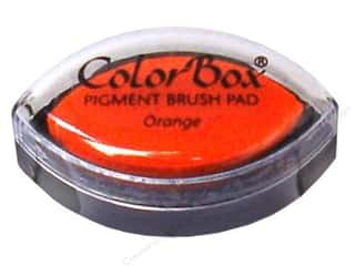 Clearsnap ColorBox Pigment Inkpad Cat's Eye: ColorBox Pigment Inkpad Cat's Eye Orange