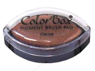 Clearsnap ColorBox Pigment Inkpad Cat's Eye: ColorBox Pigment Inkpad Cat's Eye Cocoa