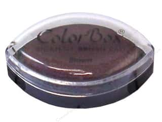 Rubber Stamping Brown: ColorBox Pigment Inkpad Cat's Eye Brown