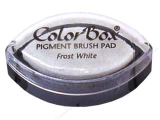 Clearsnap ColorBox Pigment Inkpad Cat's Eye: ColorBox Pigment Inkpad Cat's Eye Frost White